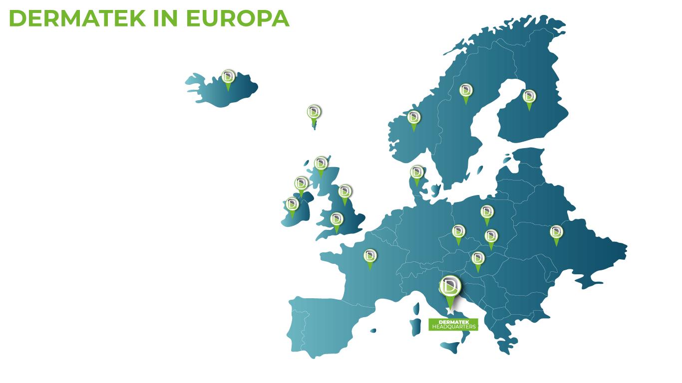 Dermatek in Europa